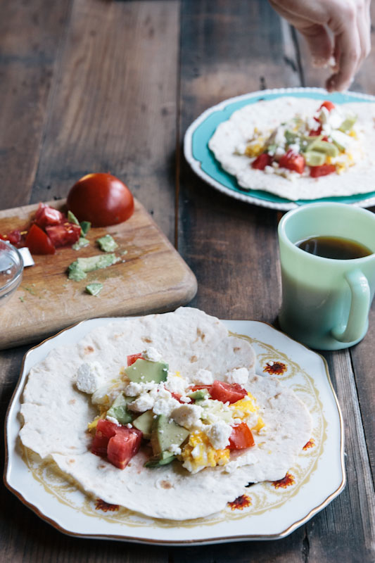 Easy Breakfast Tacos Recipe