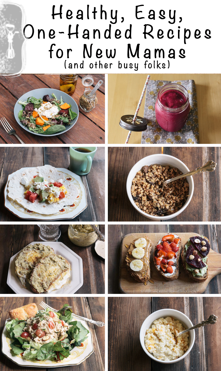 Healthy and Easy Recipes for New Mamas | Vintage Mixer