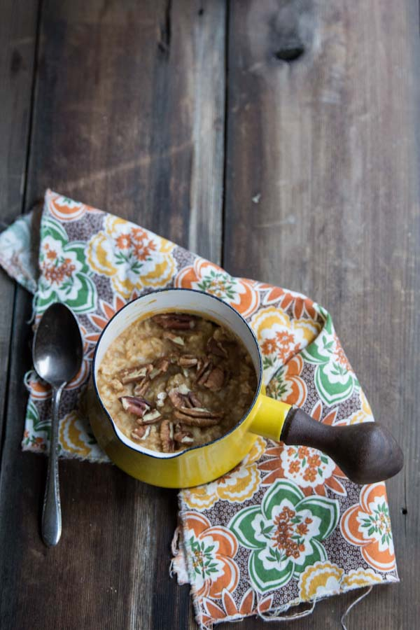 Sugar-free Pumpkin Oatmeal Recipe