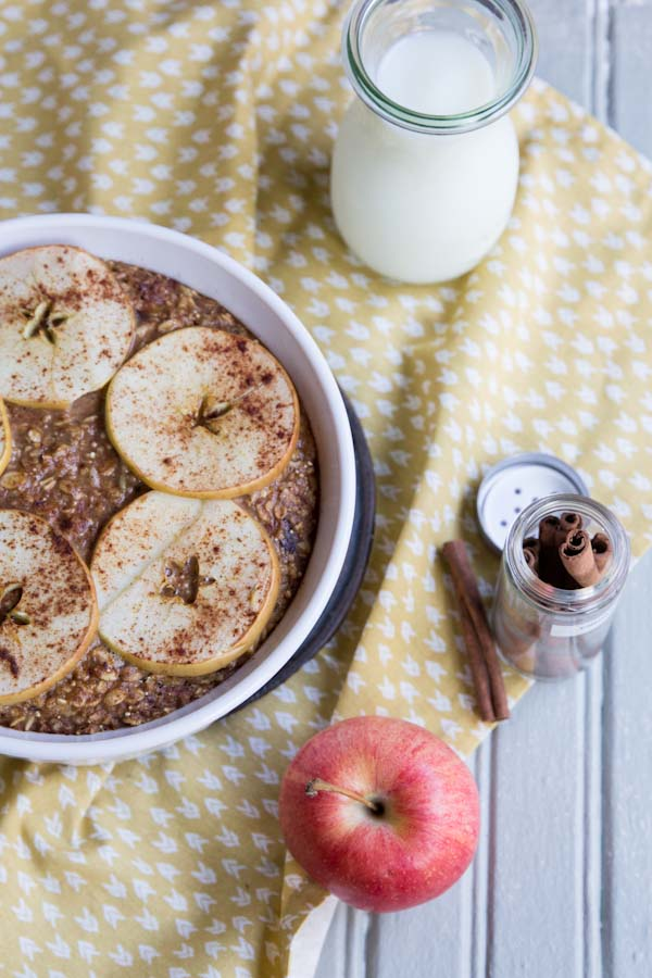 Apple Baked Oatmeal