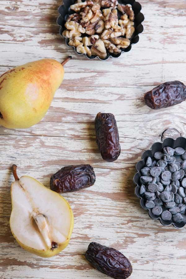 Pear Chocolate Tartlet Recipe