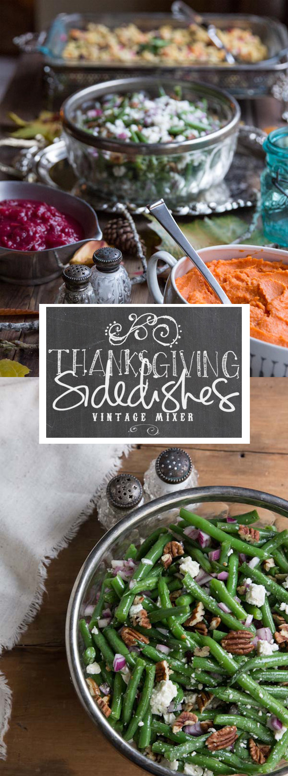Thanksgiving Green Bean Side Dish | Vintage Mixer