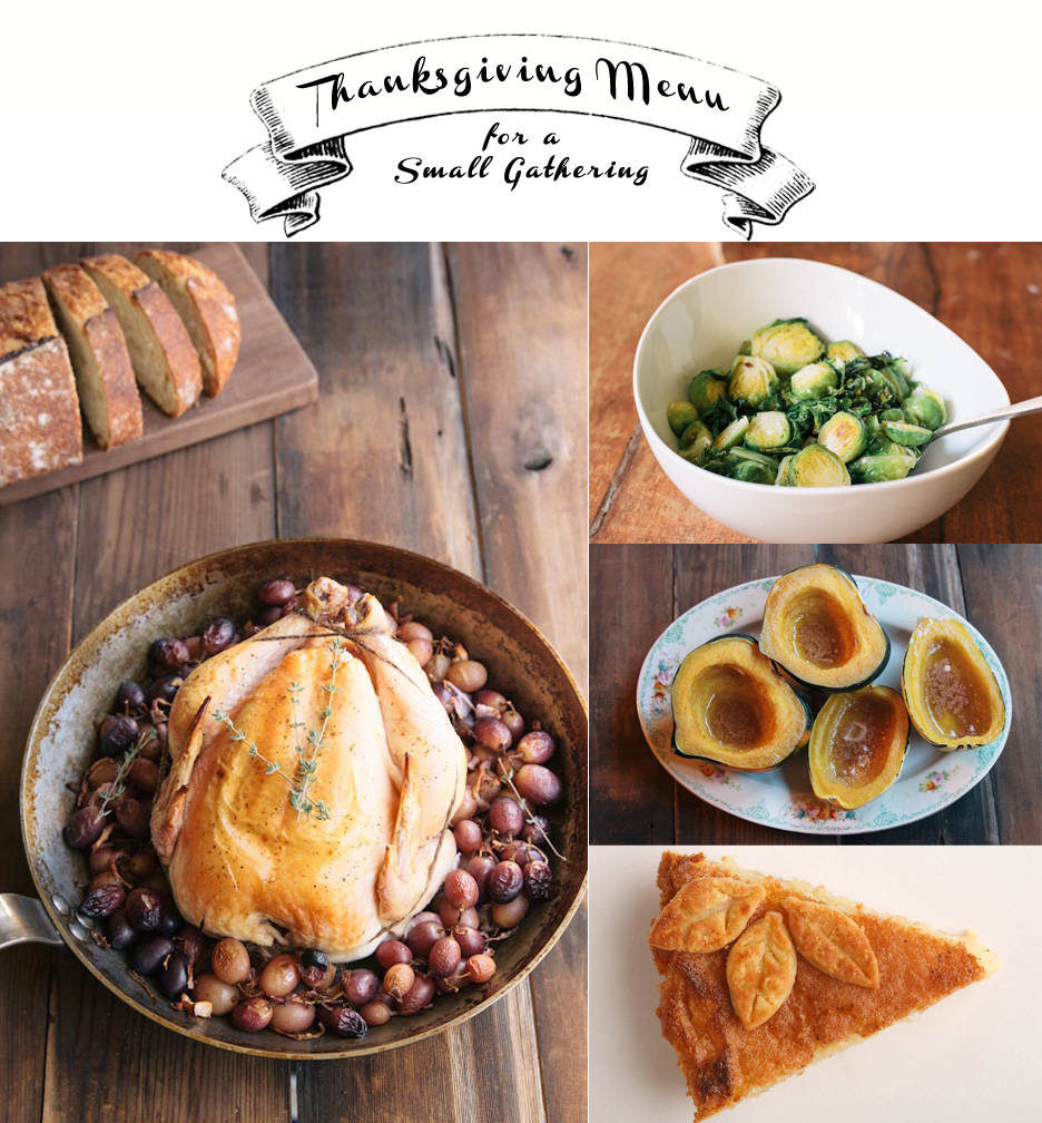 Thanksgiving Menu for Four