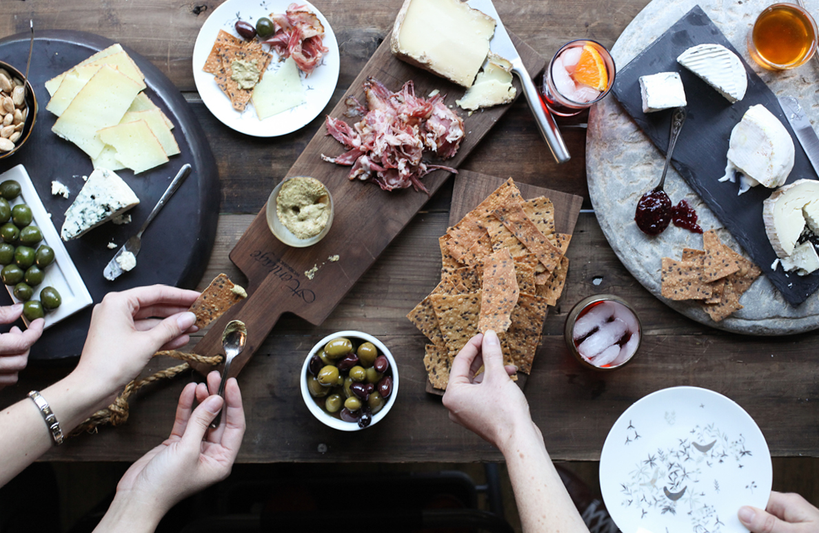 Cheese Board Spread Foodie Crush magazine