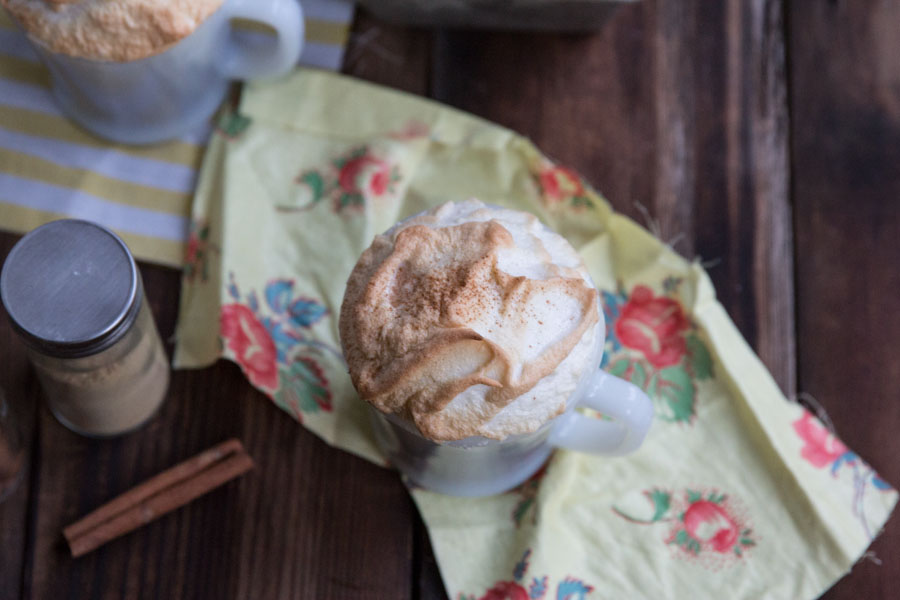 Gingerbread Latte Mug Cakes