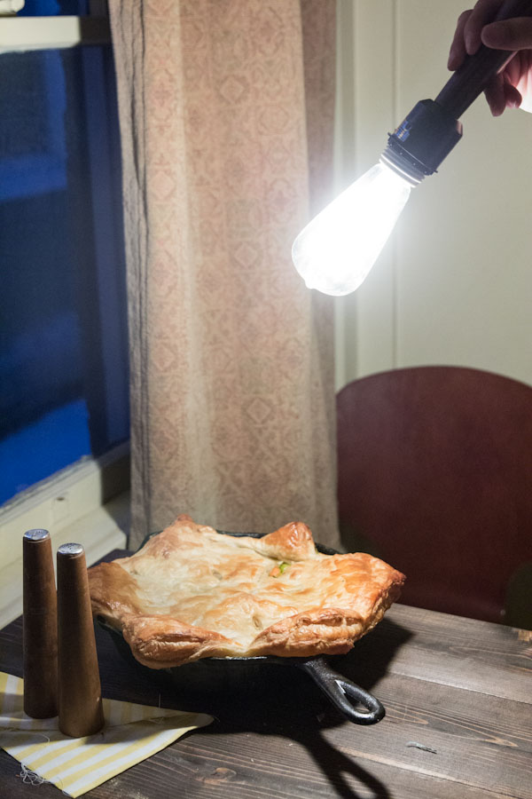 Chicken and Vegetable Pot Pie Recipe