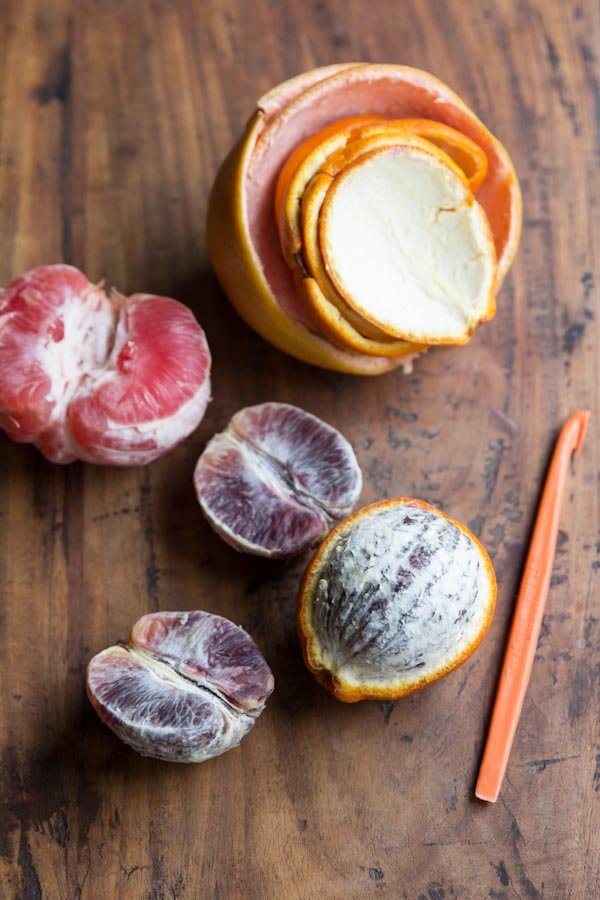 Oranges and Grapefruit