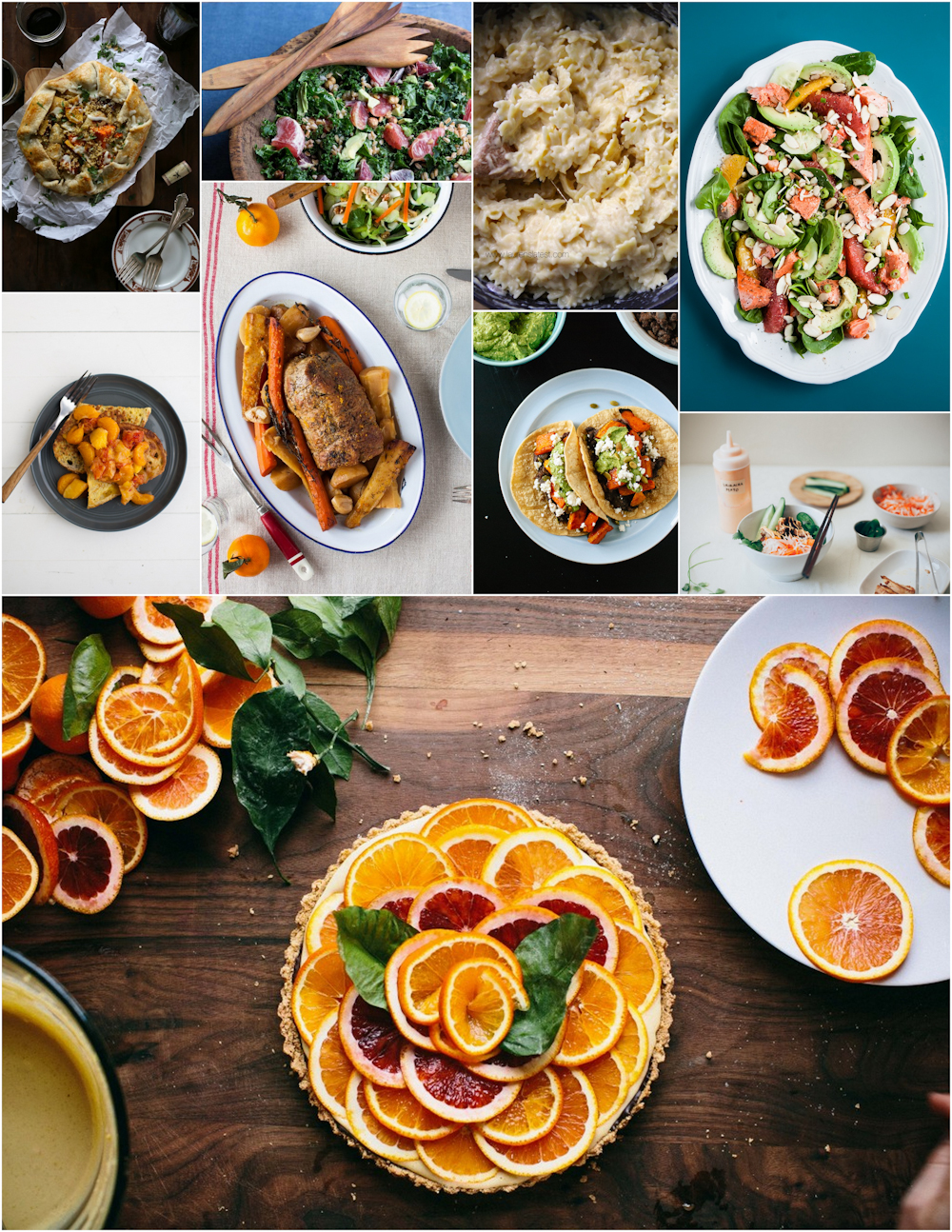 March Seasonal Recipes