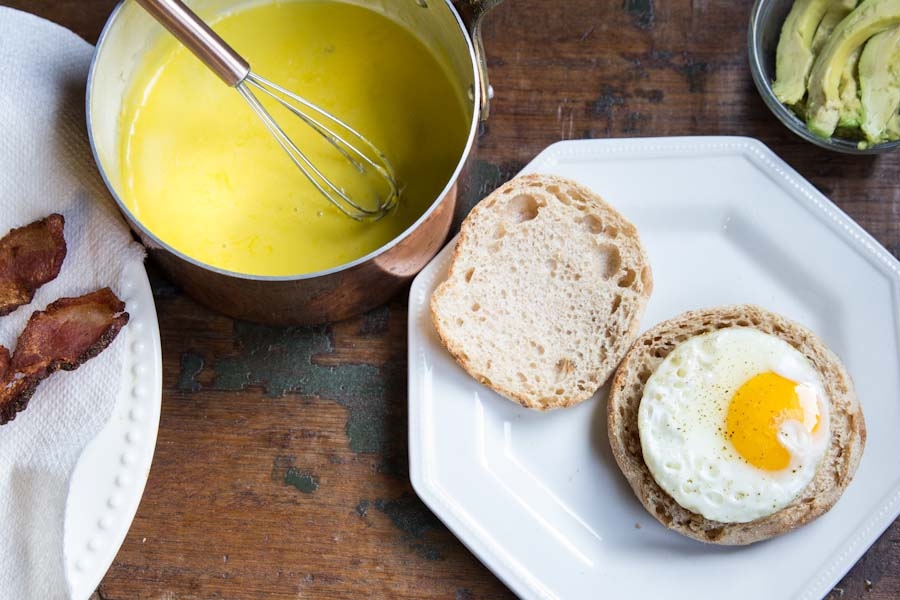 Bacon Avocado Eggs Benedict Recipe