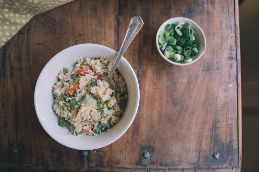 Cauliflower Fried Rice Recipe + GIVEAWAY