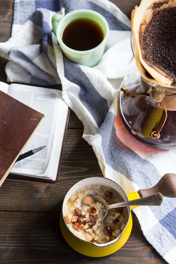 Overnight Steel Cut Oatmeal Recipe