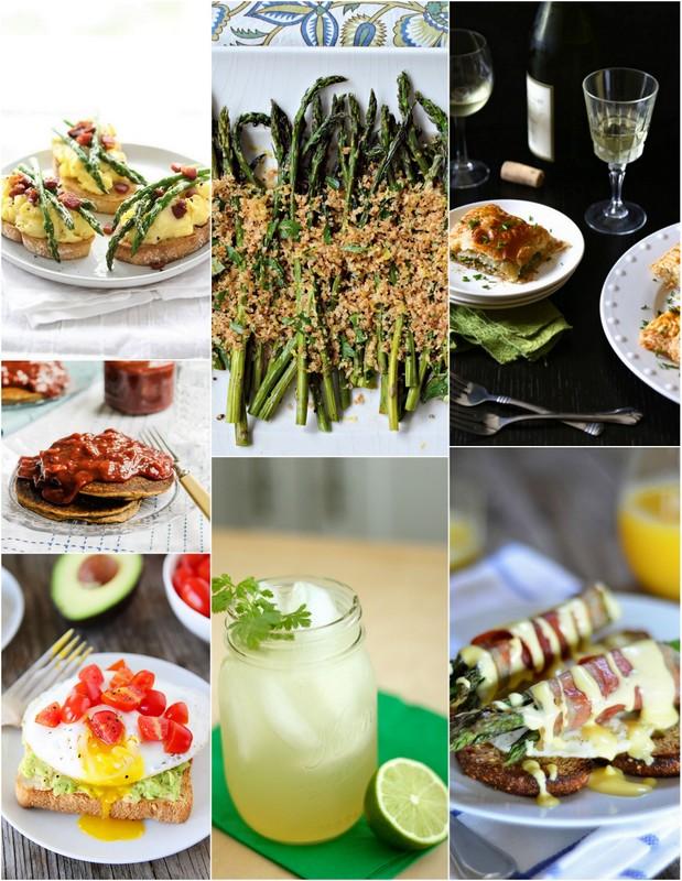 April Seasonal Recipes | theVintageMixer.com