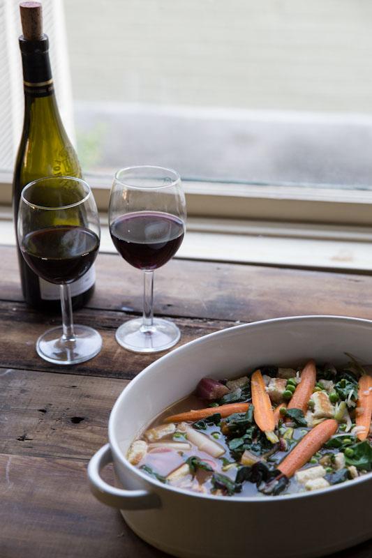 Vegetables and Ricotta Dumplings Recipe | theVintageMixer.com