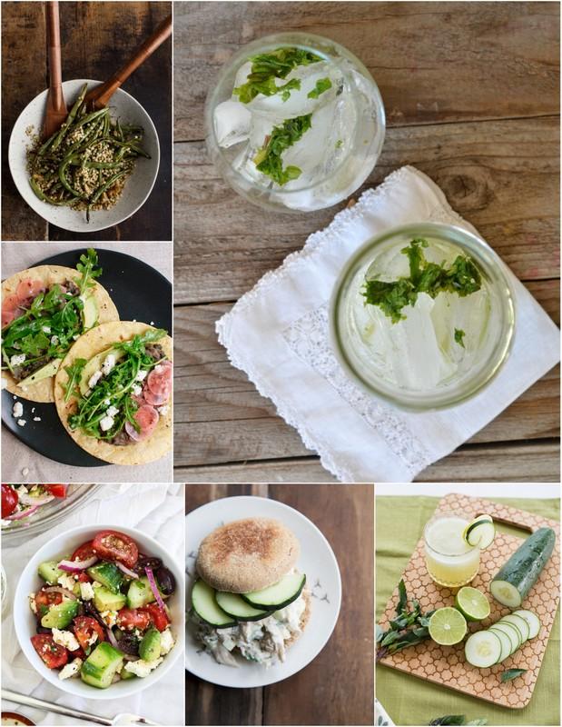 June Seasonal Recipes • theVintageMixer.com #eatseasonal
