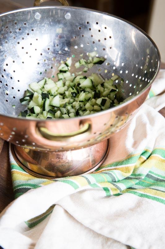 Tzatziki Chicken Salad Recipe • theVintageMixer.com