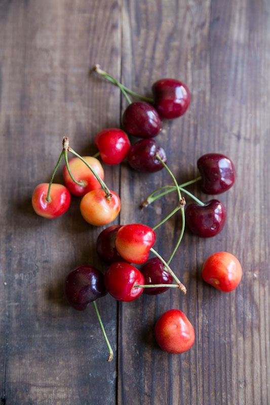 Fresh Cherries • theVintageMixer.com