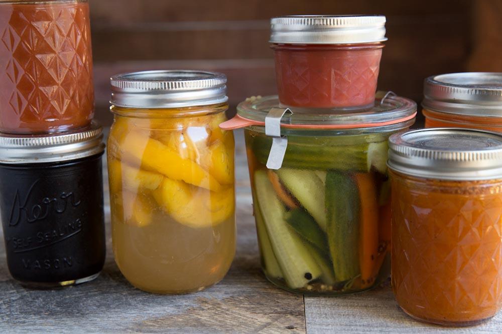 Modern Canning Recipes • theVintageMixer.com #canningweek