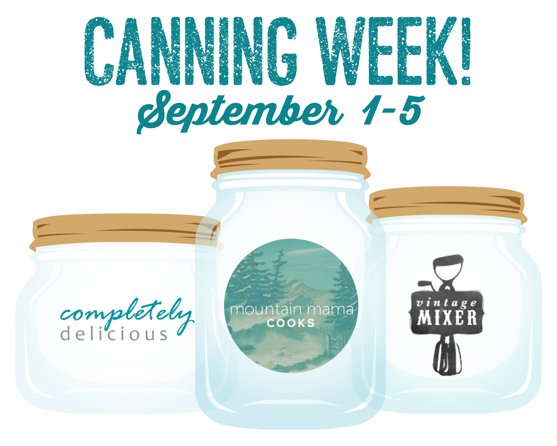 Canning and Preserving Recipes • theVintageMixer.com