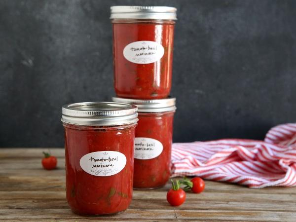 Tomato Basil Marinara Recipe
