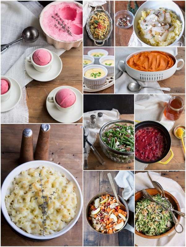 Thanksgiving Side Dish Recipes • theVintageMixer.com #Thanksgiving