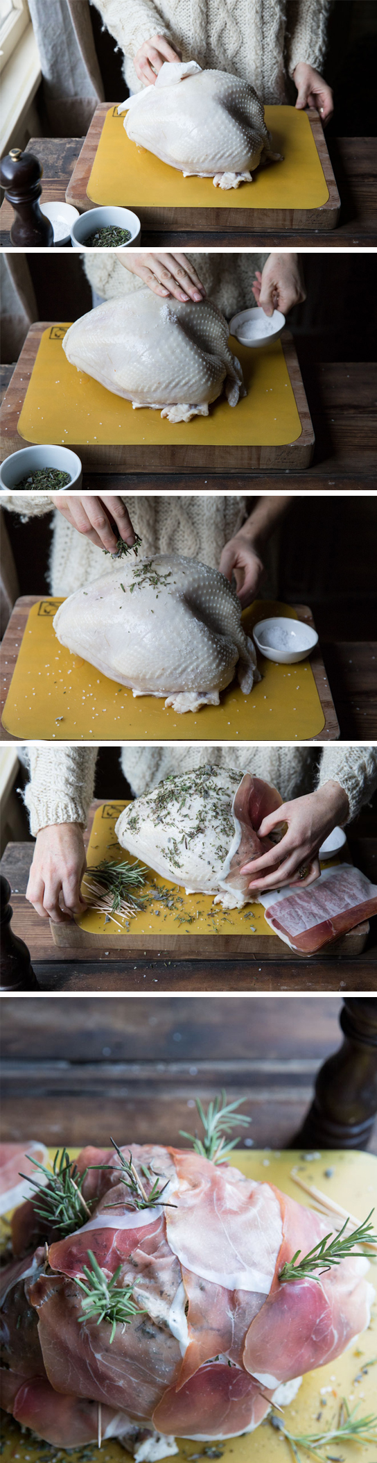 How to Prep and Roast a Turkey • theVintageMixer.com