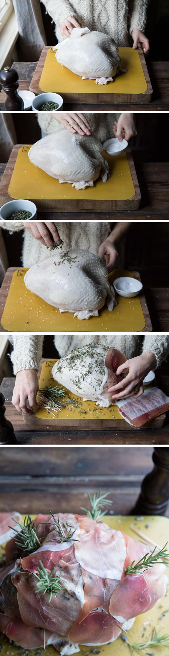 How to Prep and Roast a Turkey • theVintageMixer.com