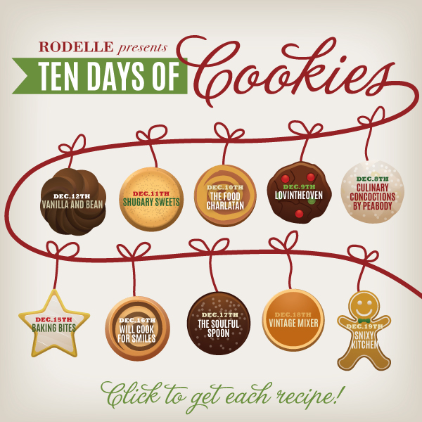 Rodelle 10 Days of Cookies