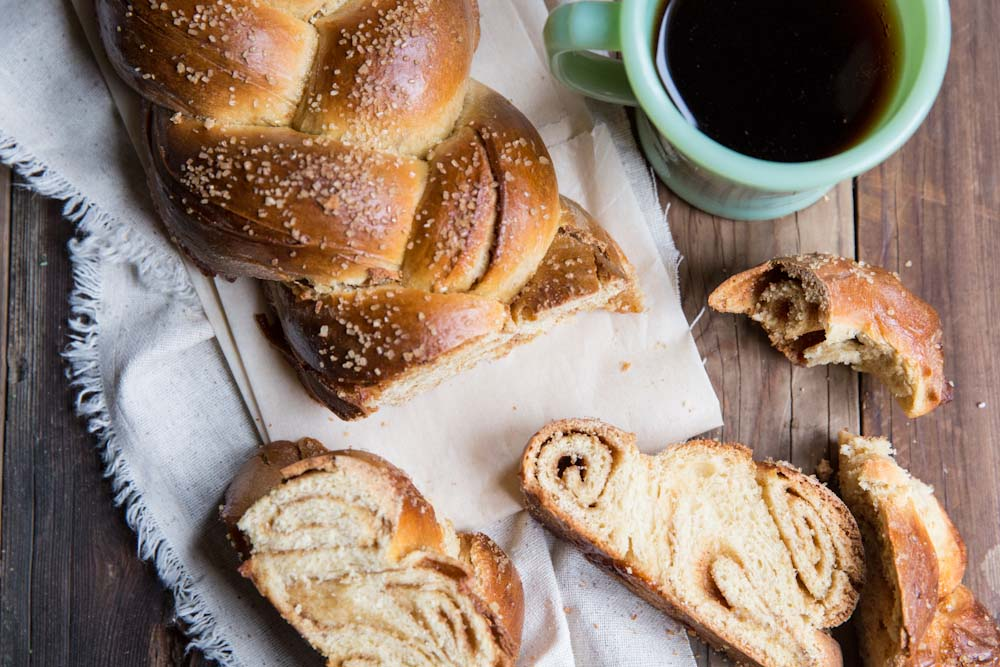 Cinnamon Roll Challah Bread Recipe