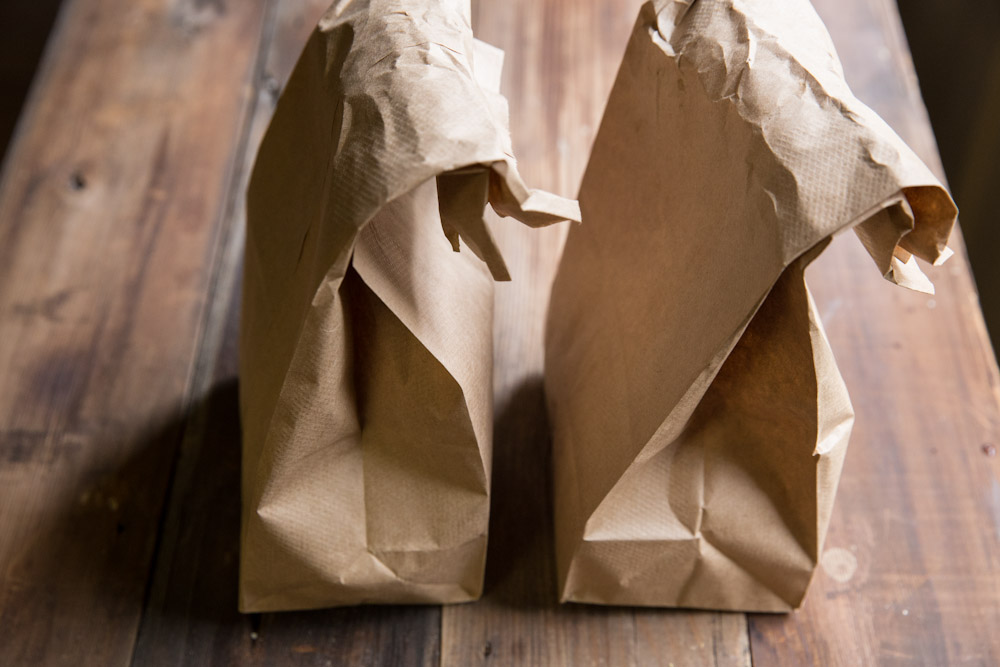 His and Her Brown Bag Lunch