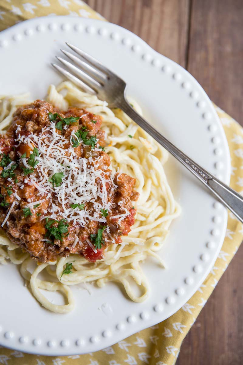 how to cook bolognese pasta sauce