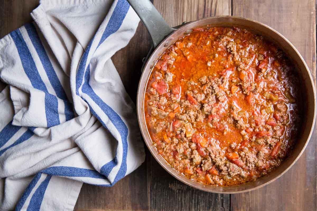 Homemade Bolognese Sauce Recipe