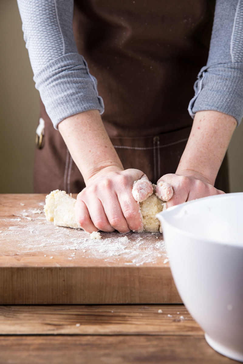 How to make homemade gnocchi • theVintageMixer.com #gnocchi