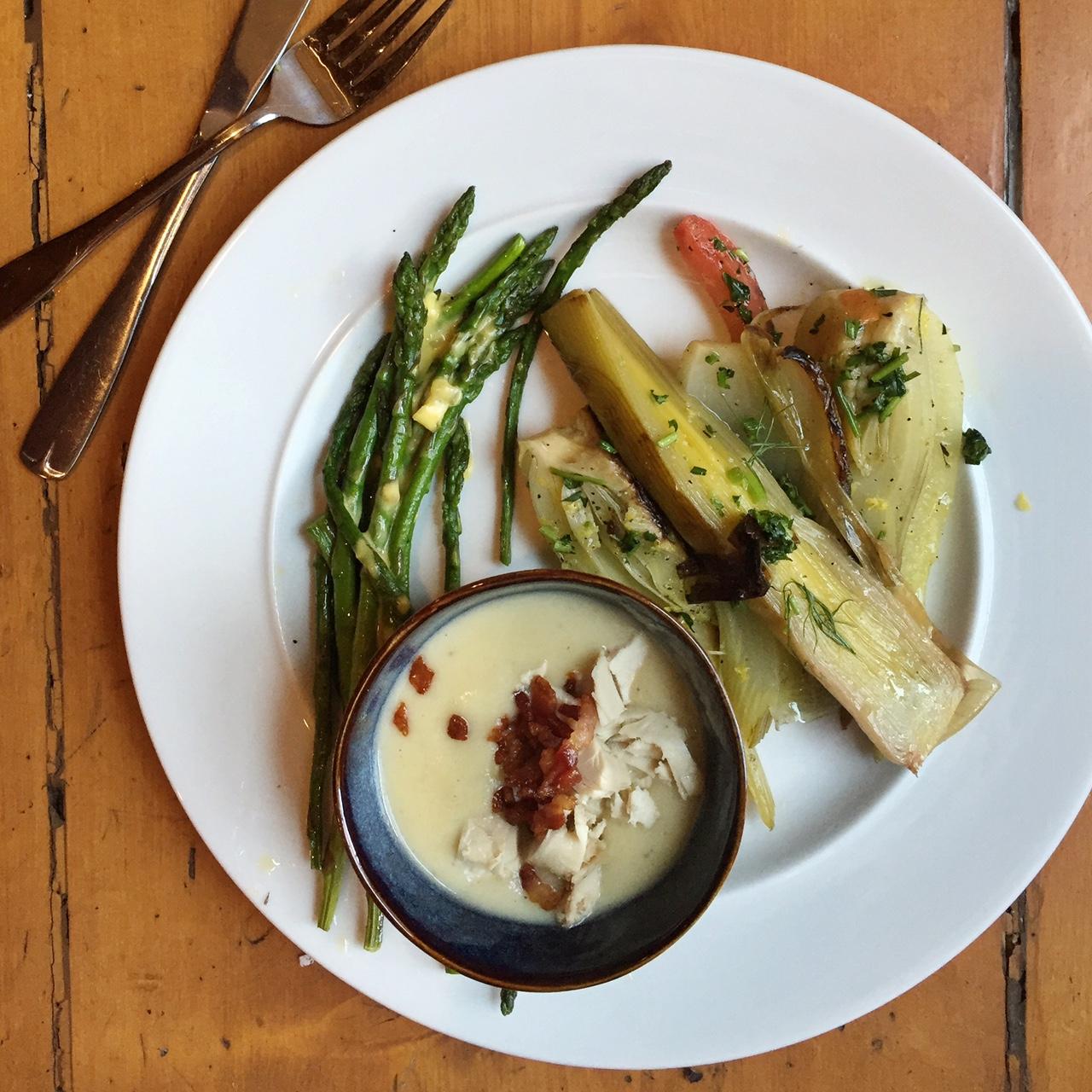 culinary school lunch • theVintageMixer.com #culinaryschool