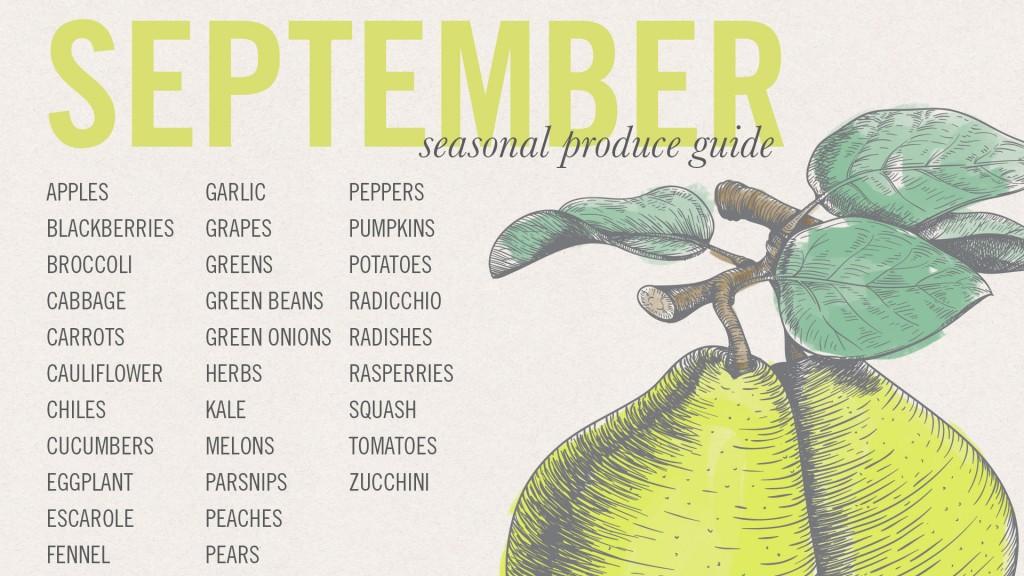 What Produce Is In Season In September