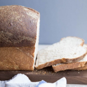Homemade Sourdough Bread Recipe • theVintageMixer.com #bread #homemadebread #sourdoughbread