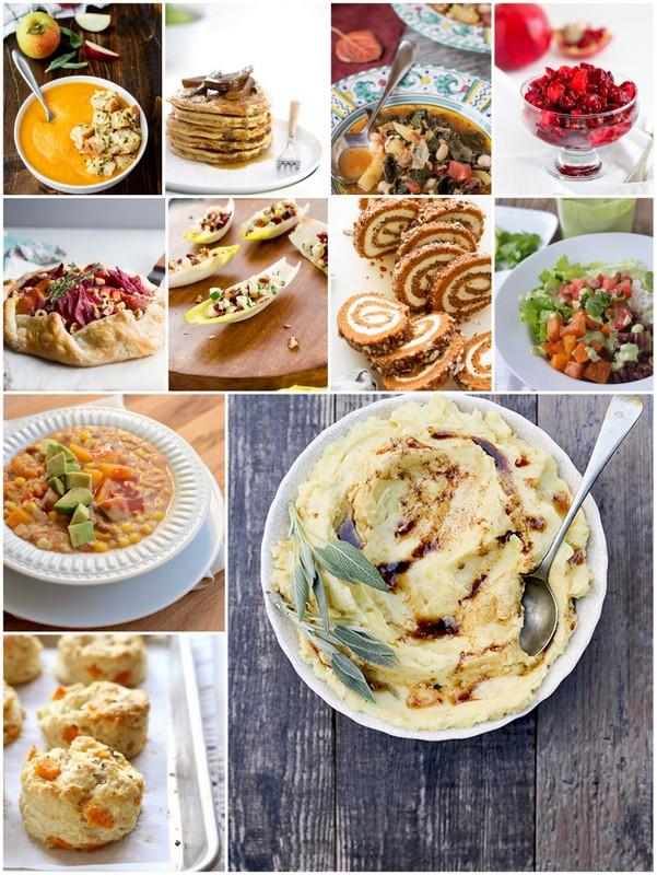 November Seasonal Recipes • TheVintageMixer.com #eatseasonal