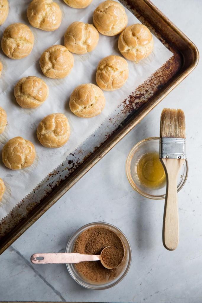 Churro Cream Puffs Recipe