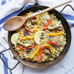 Veggie Paella with Artichokes and Olives
