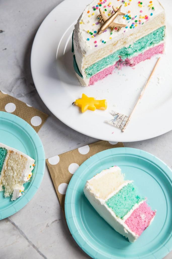 kid birthday cake •theVintageMixer.com #kidbirthdaycake #birthdaycake