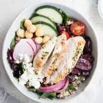 Chicken Gyro Bowls