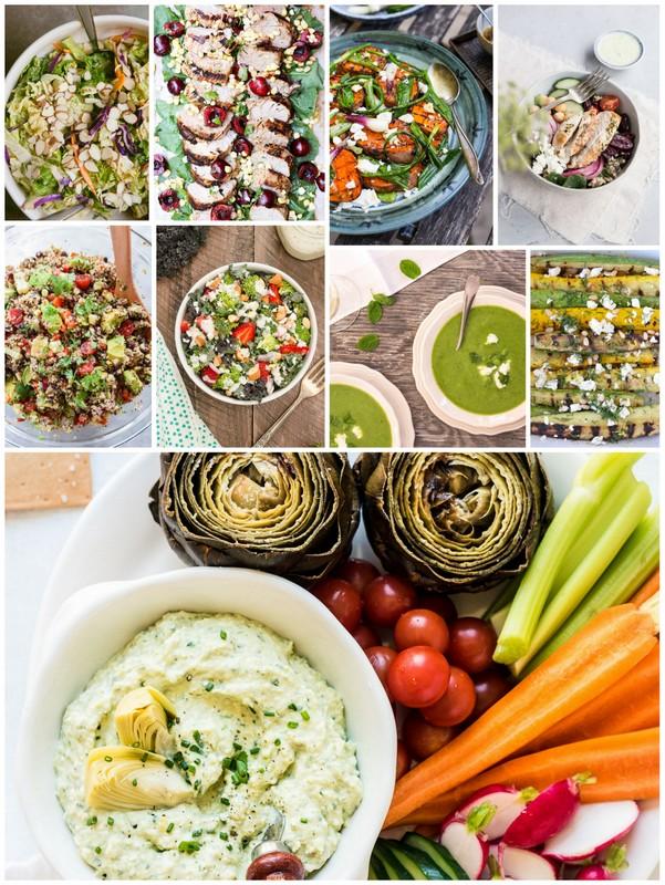 July Seasonal Recipes •theVintageMixer.com #eatseasonal #seasonalrecipes