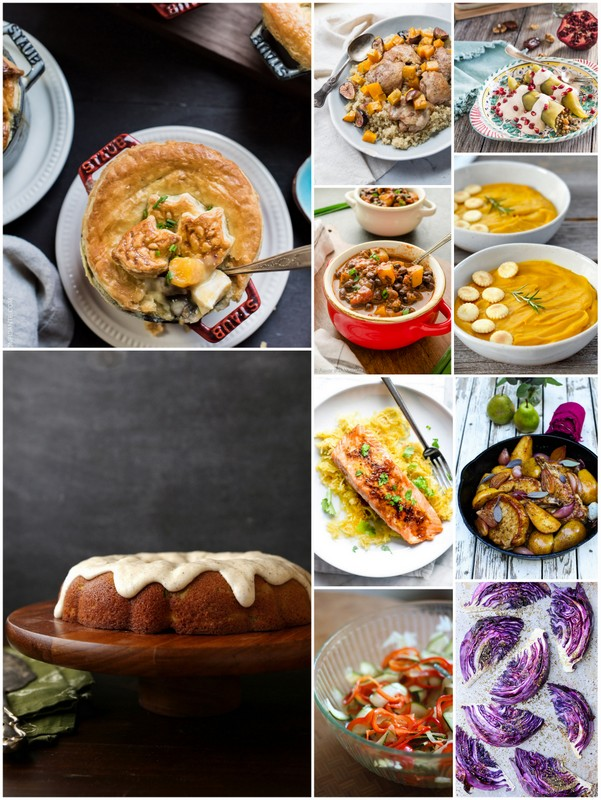 October Seasonal Recipes • theVintageMixer.com #eatseasonal #seasonalrecipes #freshrecipes #healthyrecipes