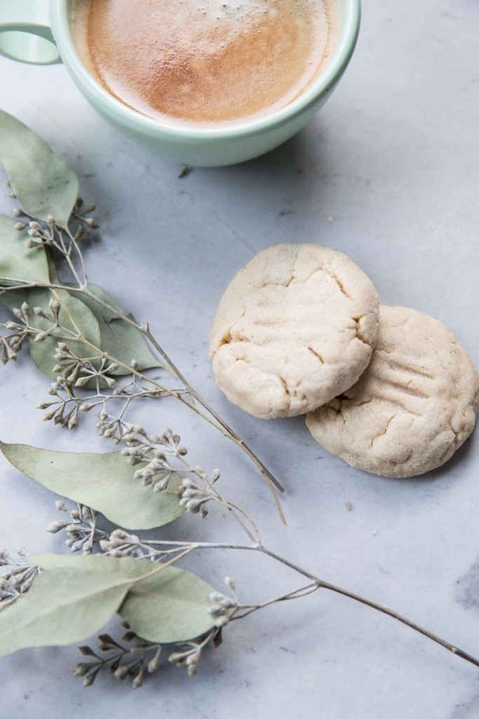 Halva Cookie Recipe • theVintageMixer.com #cookie #cookierecipe #halvacookie #tahini