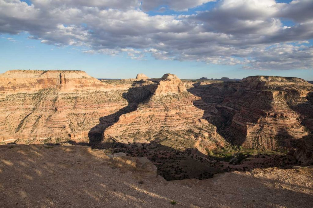 check out this view from camping in Southern Utah at San Rafael Swell