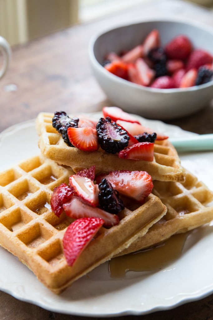 Favorite whole wheat waffle recipe