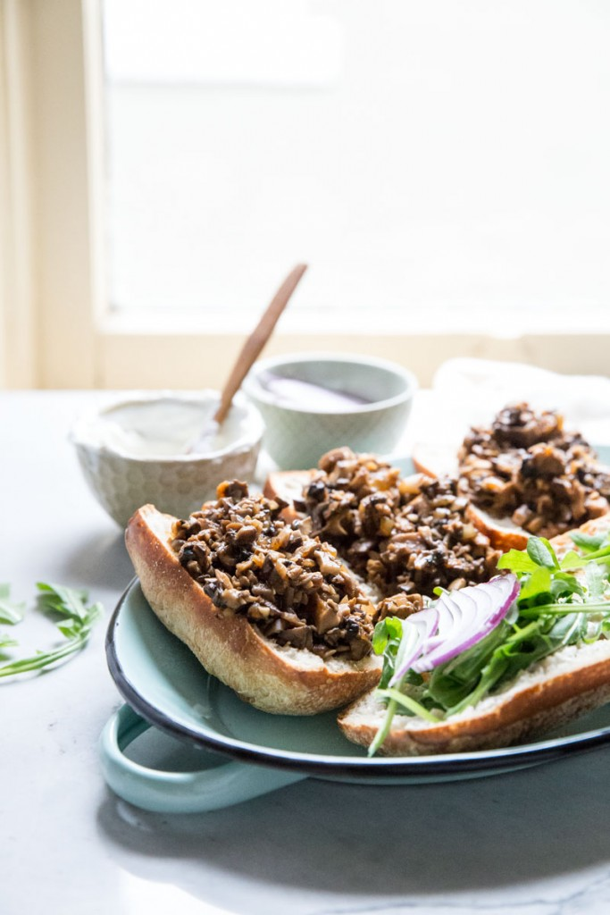 Use mushrooms to make Sloppy Joes healthy and vegan