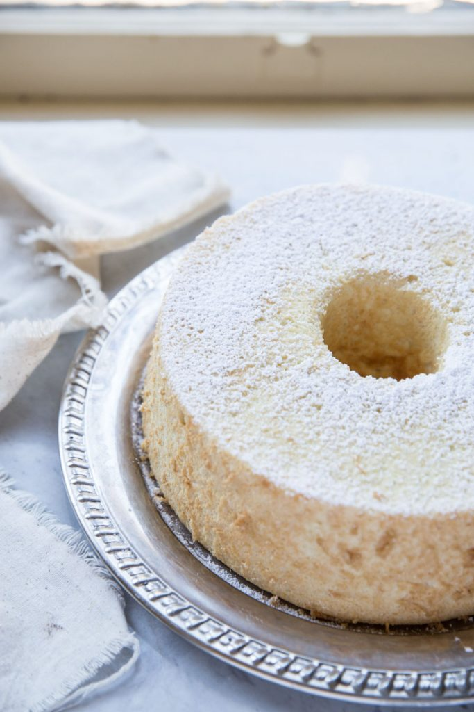 This Angel Food Cake Recipe gives all of the tips to making a perfect homemade Angel Food Cake
