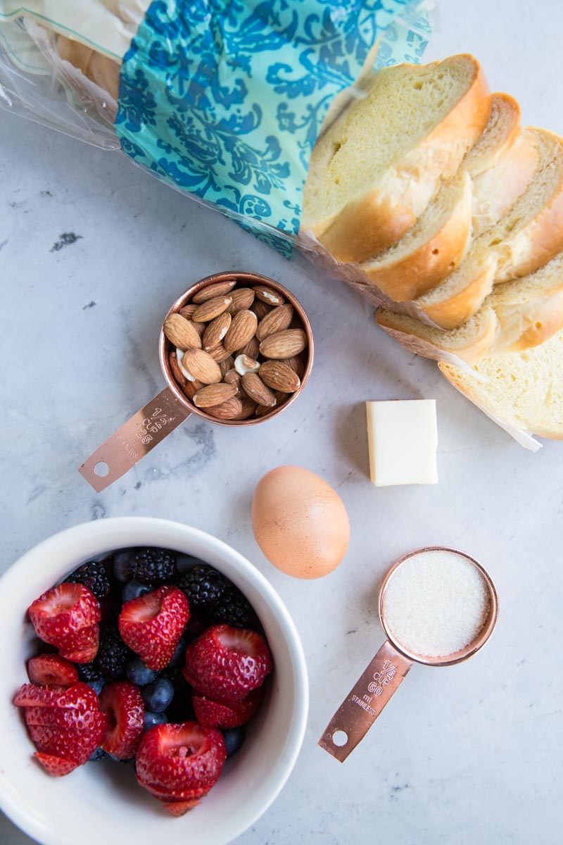 All the ingredients you need for a simple Summer breakfast