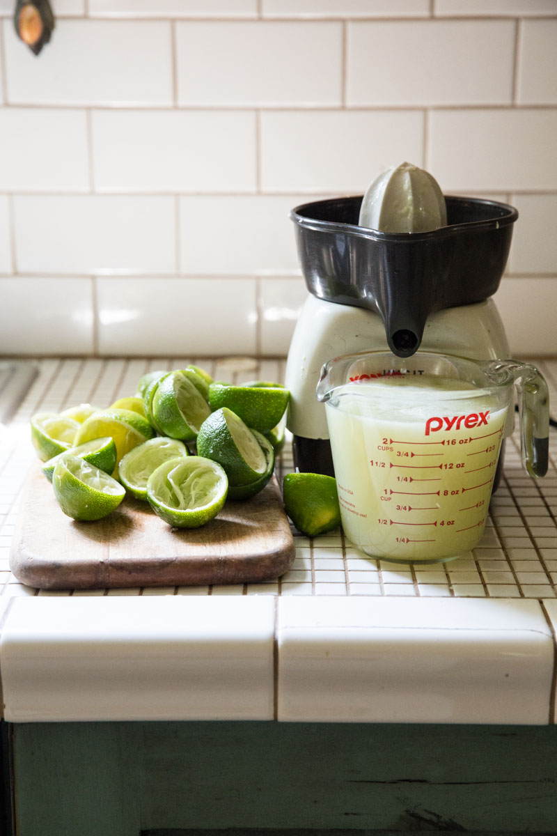 Try fresh lime juice in this homemade cherry limeade recipe