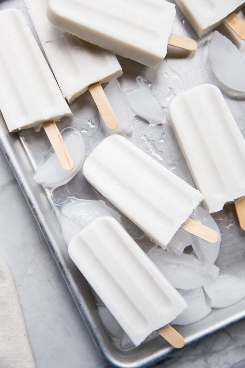Everyone loves these Coconut Popsicles and they just happen to be vegan and dairy-free too!